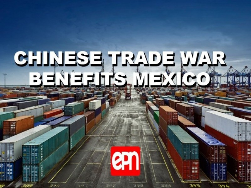 Mexico benefits from China-US trade war